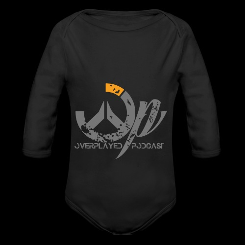 Overplayed Official - Organic Long Sleeve Baby Bodysuit