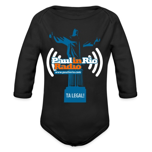 Paul in Rio Radio - The Thumbs up Corcovado #2 - Organic Long Sleeve Baby Bodysuit