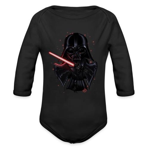 Bird Vader - Organic Long Sleeve Baby Bodysuit