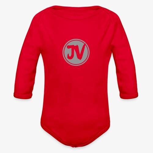 My logo for channel - Organic Long Sleeve Baby Bodysuit