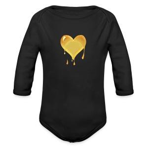 Gldluv - Long Sleeve Baby Bodysuit