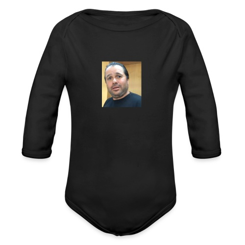 Hugh Mungus - Organic Long Sleeve Baby Bodysuit