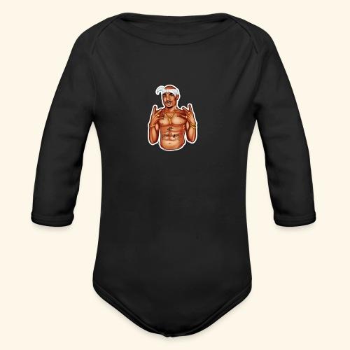 Thug life - Organic Long Sleeve Baby Bodysuit