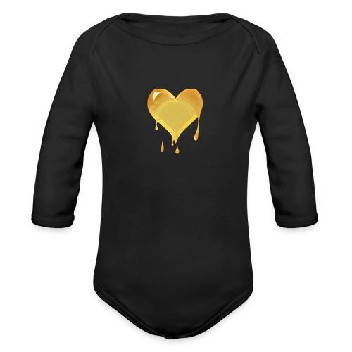 Gldluv - Organic Long Sleeve Baby Bodysuit