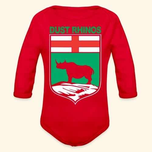 Manitoba Rhino - Organic Long Sleeve Baby Bodysuit