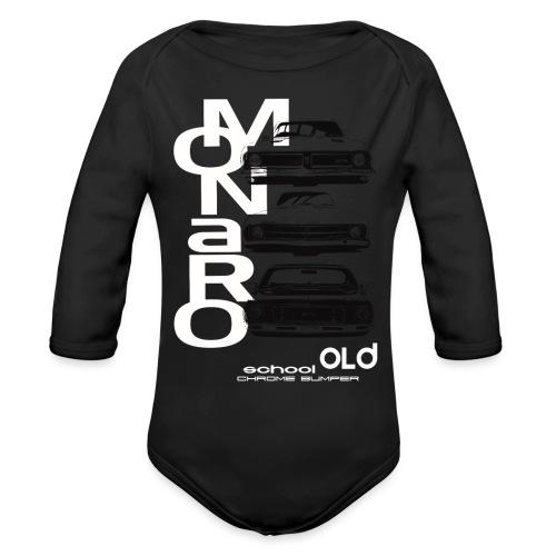 monaro over - Organic Long Sleeve Baby Bodysuit