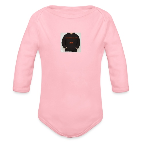 SHIRT - Organic Long Sleeve Baby Bodysuit