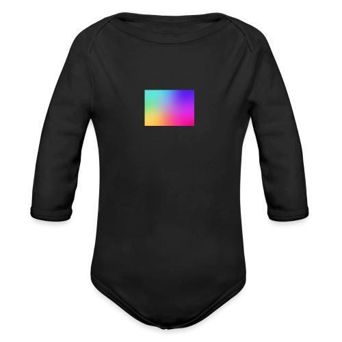 GRADIENT - Organic Long Sleeve Baby Bodysuit