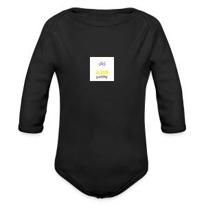 2nd version of logo - Long Sleeve Baby Bodysuit