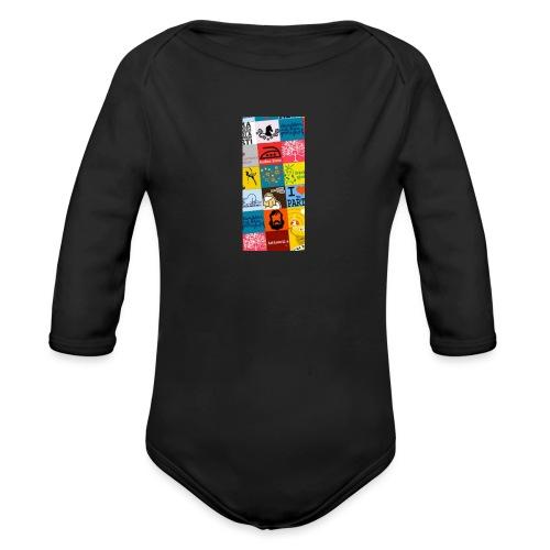 Creative Design - Organic Long Sleeve Baby Bodysuit