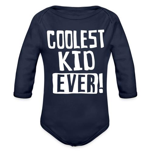 Coolest kid ever - Organic Long Sleeve Baby Bodysuit