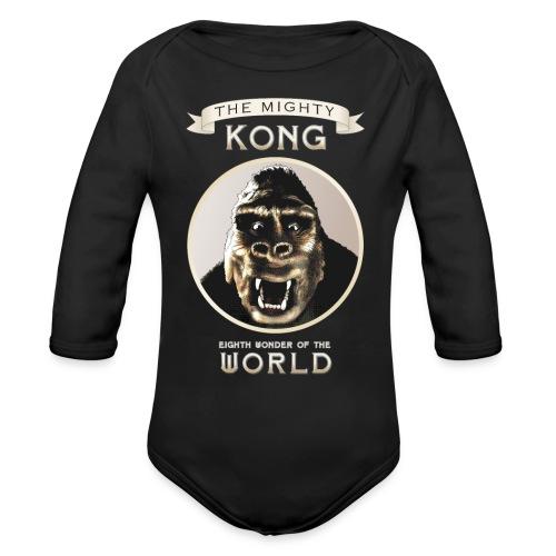 Classic Kong - Organic Long Sleeve Baby Bodysuit