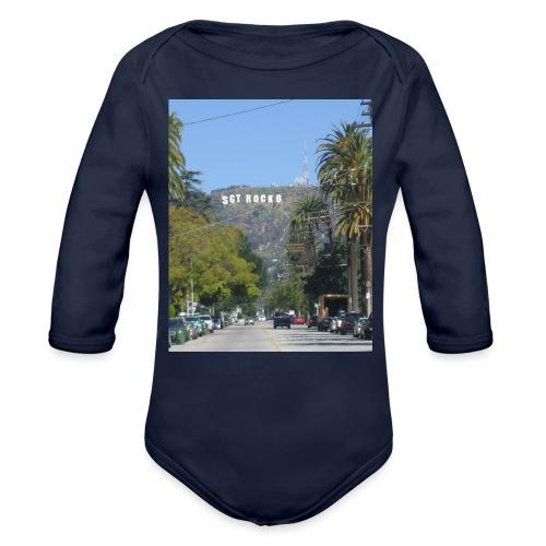 RockoWood Sign - Organic Long Sleeve Baby Bodysuit