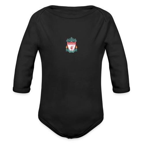 Logo LiverpoolFC - Organic Long Sleeve Baby Bodysuit