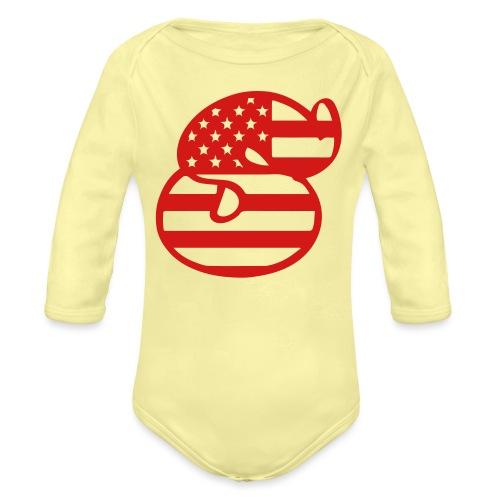 SG Flag - Organic Long Sleeve Baby Bodysuit