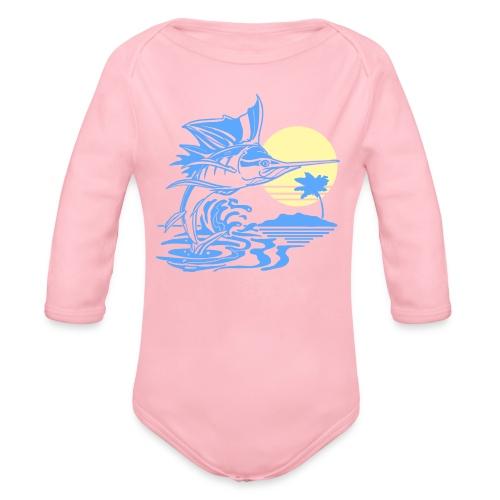 Sailfish - Organic Long Sleeve Baby Bodysuit