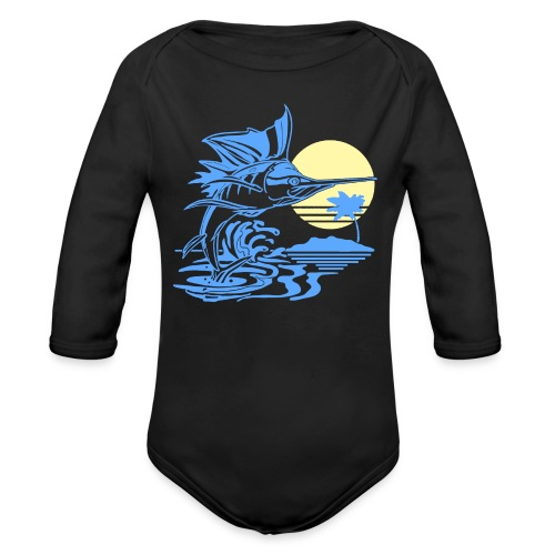 Sailfish - Organic Long Sleeve Baby Bodysuit