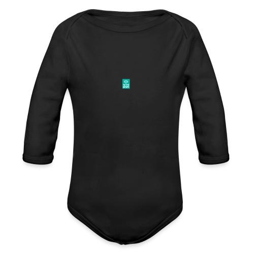 mail_logo - Organic Long Sleeve Baby Bodysuit
