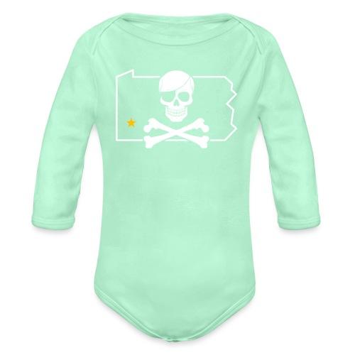 Bones PA - Organic Long Sleeve Baby Bodysuit