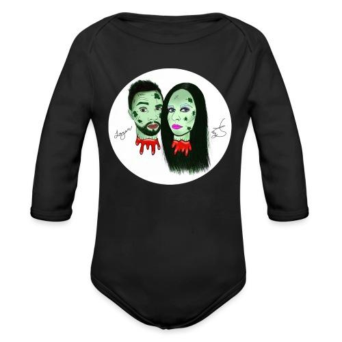 Taylor Angus Zombies - Organic Long Sleeve Baby Bodysuit