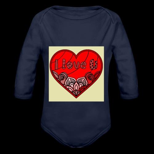 DE1E64A8 C967 4E5E 8036 9769DB23ADDC - Organic Long Sleeve Baby Bodysuit