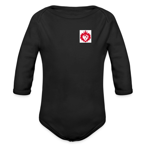 E JUST LION - Organic Long Sleeve Baby Bodysuit