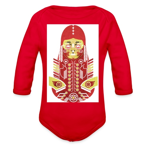 dreamlady - Organic Long Sleeve Baby Bodysuit