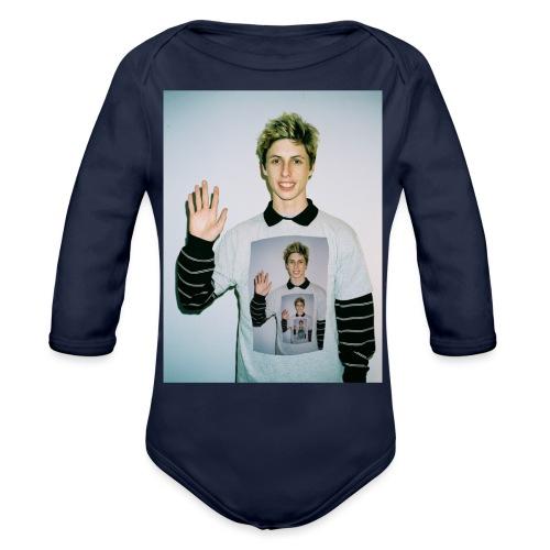 lucas vercetti - Organic Long Sleeve Baby Bodysuit