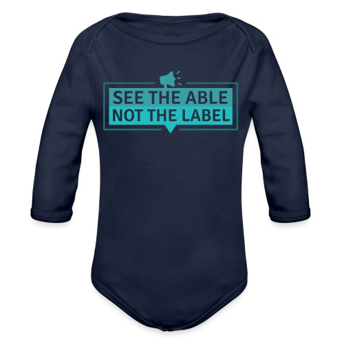 See the Able - Organic Long Sleeve Baby Bodysuit