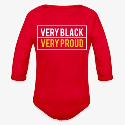 Melanin Pride - Organic Long Sleeve Baby Bodysuit