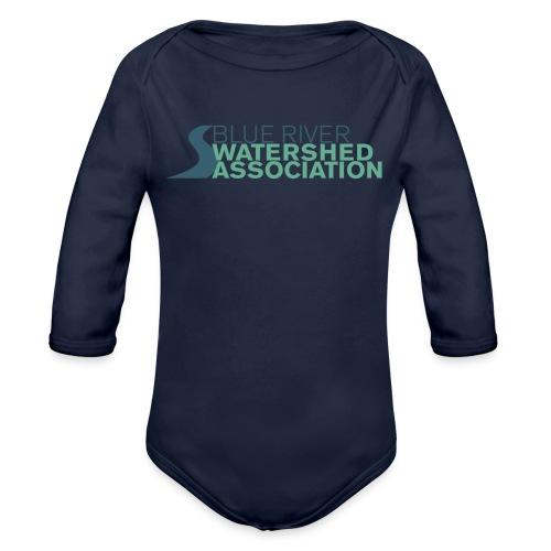 BRWA Logo - Organic Long Sleeve Baby Bodysuit