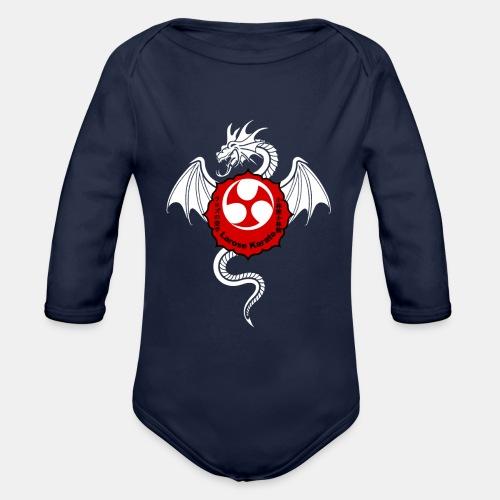 Dragon (W) - Larose Karate - Design Contest 2017 - Organic Long Sleeve Baby Bodysuit