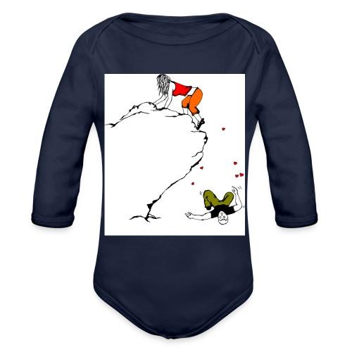 Lady Climber - Organic Long Sleeve Baby Bodysuit