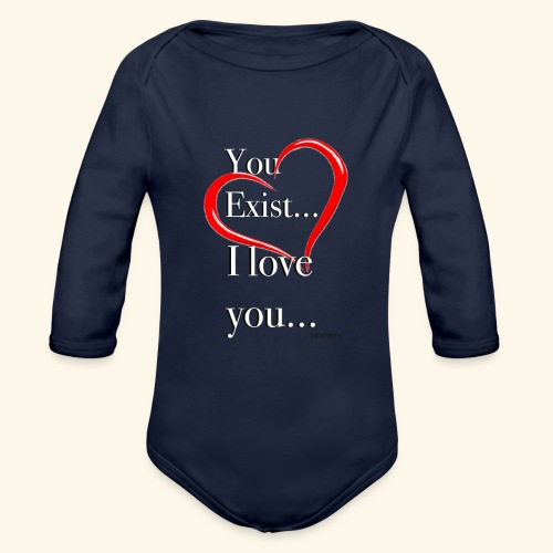 ExistW - Organic Long Sleeve Baby Bodysuit