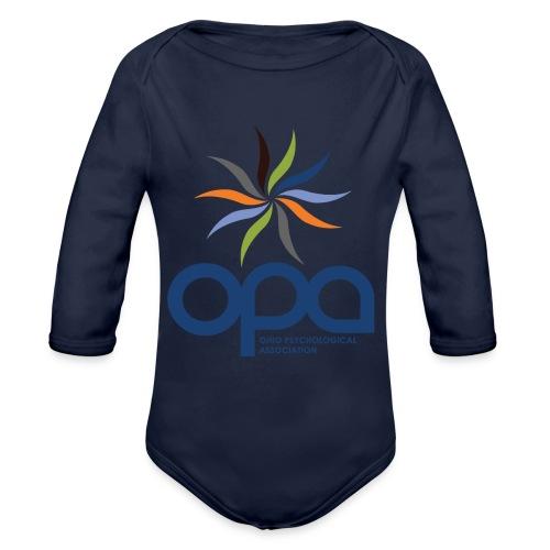 Short-sleeve t-shirt with full color OPA logo - Organic Long Sleeve Baby Bodysuit