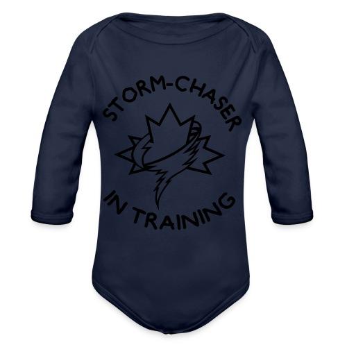 kiddesign 1 - Organic Long Sleeve Baby Bodysuit