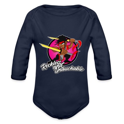 ru won 01 - Organic Long Sleeve Baby Bodysuit