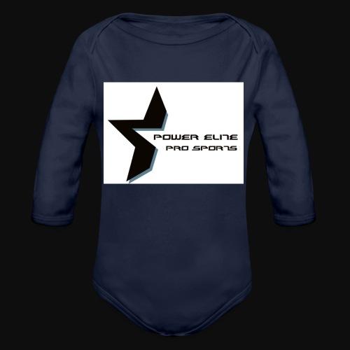 Star of the Power Elite - Organic Long Sleeve Baby Bodysuit