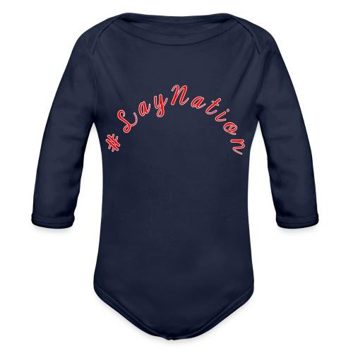 #LayNation - Organic Long Sleeve Baby Bodysuit