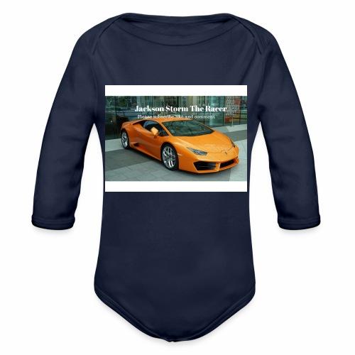 The jackson merch - Organic Long Sleeve Baby Bodysuit