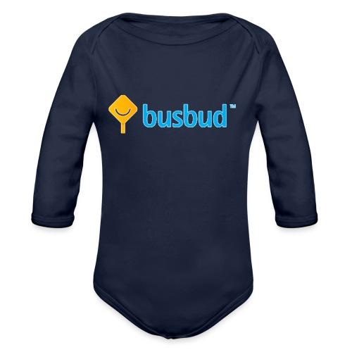 busbud - Organic Long Sleeve Baby Bodysuit