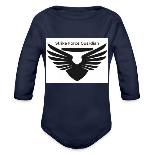 Strike force - Organic Long Sleeve Baby Bodysuit