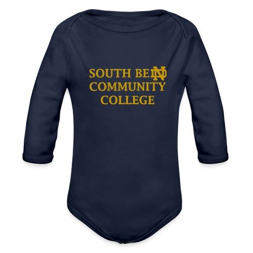 Notre Dame Community College - Organic Long Sleeve Baby Bodysuit