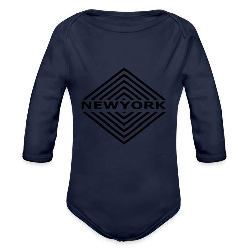 Newyork City by Design - Organic Long Sleeve Baby Bodysuit