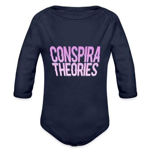 Women's - ConspiraTheories Official T-Shirt - Organic Long Sleeve Baby Bodysuit