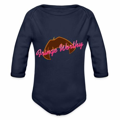 Fringe Worthy - Organic Long Sleeve Baby Bodysuit