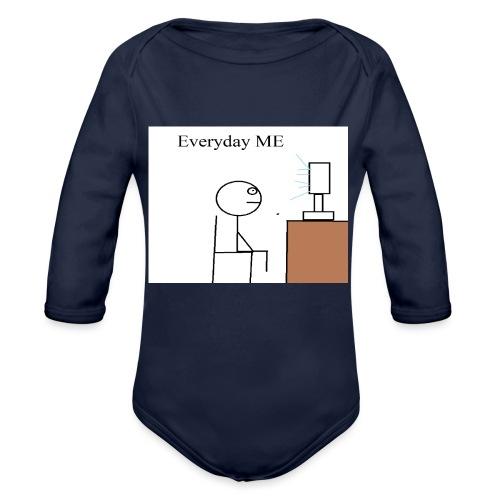 Everyday ME - Organic Long Sleeve Baby Bodysuit