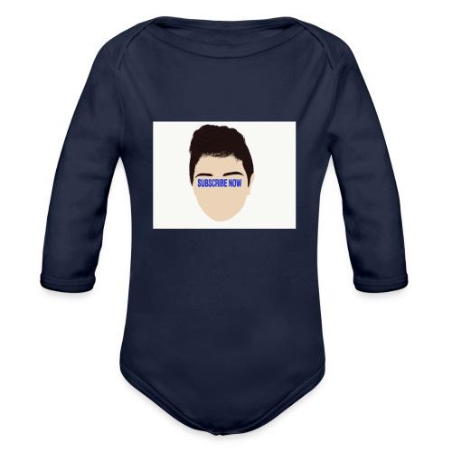 Fernando Cortez merck - Organic Long Sleeve Baby Bodysuit