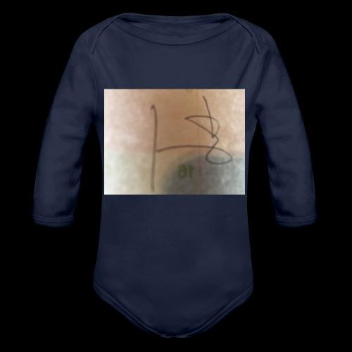 3F8A01D5 E08D 4B9C BEB2 5EB36D924760 - Organic Long Sleeve Baby Bodysuit