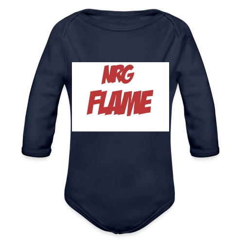 FLAME - Organic Long Sleeve Baby Bodysuit